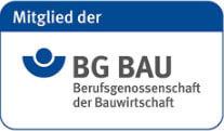 Mitglied der BG Bau